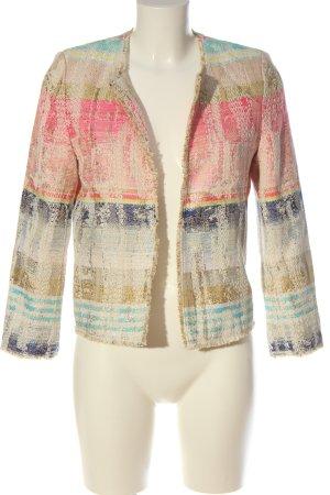 Rich & Royal Tweed blazer veelkleurig zakelijke stijl