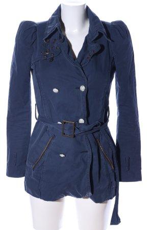 Rich & Royal Übergangsjacke blau Casual-Look