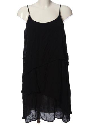 Rich & Royal Flounce Dress black casual look