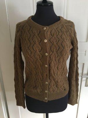 Rich & Royal Pull tricoté brun laine