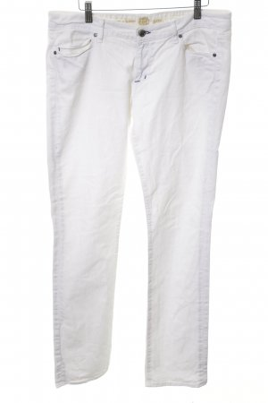 Rich & skinny Straight-Leg Jeans weiß Casual-Look
