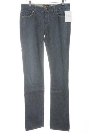 Rich & skinny Jeans a gamba dritta blu acciaio stile casual