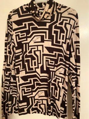 Richard Allen x H&M Koszulka z golfem camel-kremowy