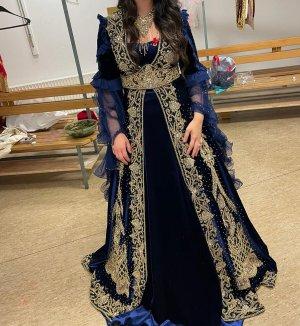 Pierre Cardin Vestido de novia azul