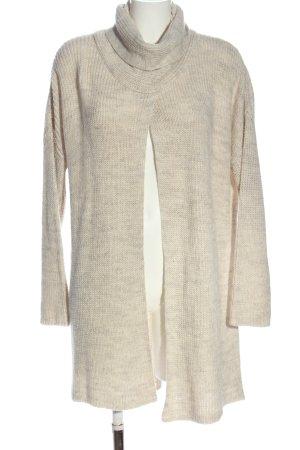 rick cardona Kardigan w kolorze białej wełny Warkoczowy wzór W stylu casual