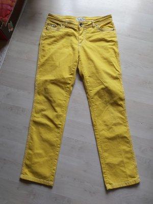 rick cardona Jeans a gamba dritta giallo