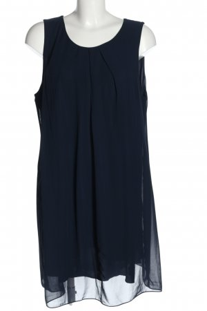 rick cardona Minikleid blau Casual-Look