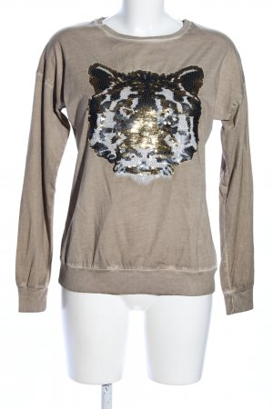 rick cardona Print-Shirt wollweiß Casual-Look