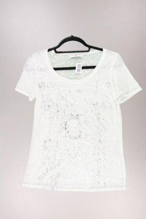 rick cardona Printshirt Größe S Kurzarm weiß