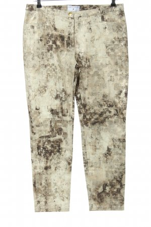rick cardona Peg Top Trousers abstract pattern casual look