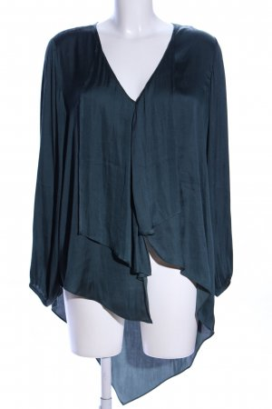 rick cardona Schlupf-Bluse grün Business-Look