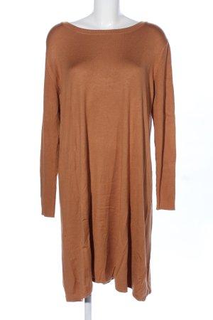 rick cardona Vestido tejido color bronce look casual