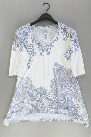 rick cardona T-Shirt Größe 46 Kurzarm weiß