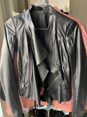 Rick owens Leather Jacket black