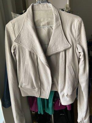 Rick owens Leather Jacket dusky pink
