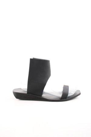 Rick owens Riemchen-Sandaletten schwarz Casual-Look