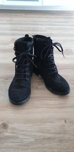Ricosta Lace-up Booties black