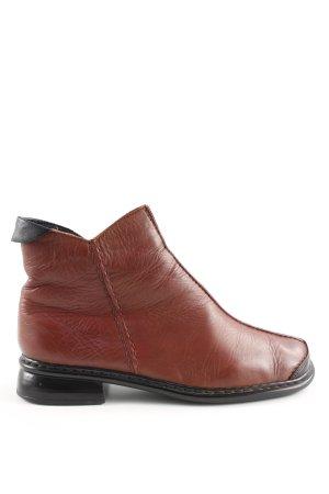 Rieker Ankle Boots braun-schwarz Business-Look