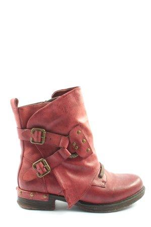 Rieker Booties rot extravaganter Stil