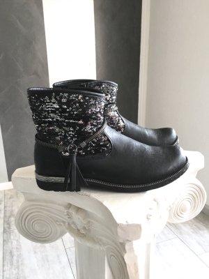 Rieker • Boots-Stiefelette Gr. 39