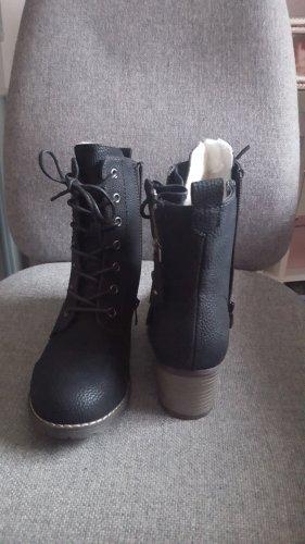 Rieker Boots / Stiefeletten schwarz Gr.38  NEU!!