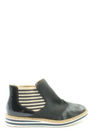 Rieker Chelsea Boots schwarz Casual-Look