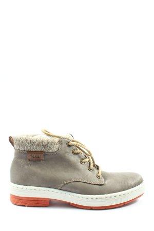 Rieker High Top Sneaker light grey casual look
