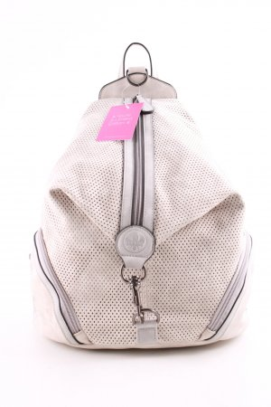 Rieker Kindergarden Backpack natural white-light grey casual look