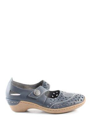 Rieker Komfort-Sandalen blau Casual-Look
