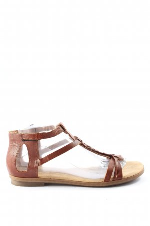Rieker Strapped Sandals brown casual look