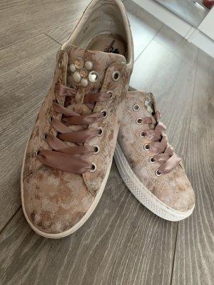 Rieker Samt Comfort Schuhe