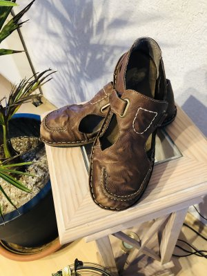 Rieker Wygodne sandały brązowy