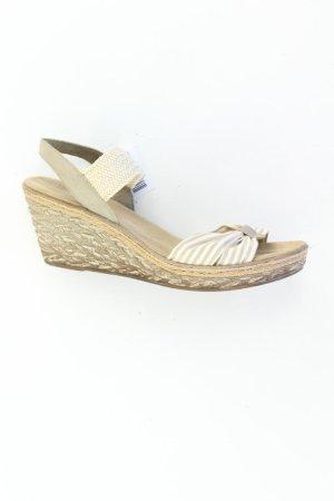 Rieker Sandaletten mit Keilabsatz Größe 41 braun