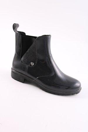 Rieker Slip-on Booties black casual look