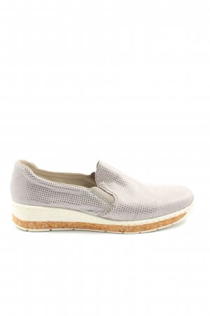 Rieker Zapatos sin cordones gris claro elegante