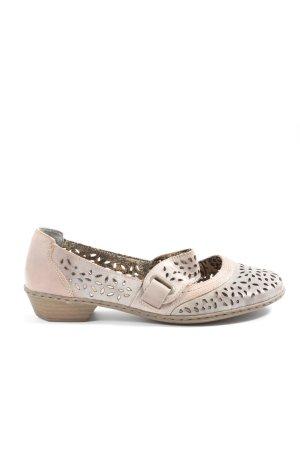 Rieker Sandały z rzemykami kremowy-jasnoszary W stylu casual