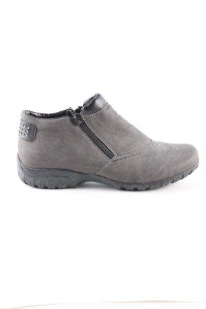 Rieker Slip-on Shoes light grey casual look