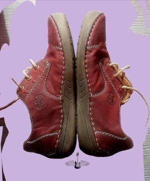Rieker Sneaker alta rosso scuro