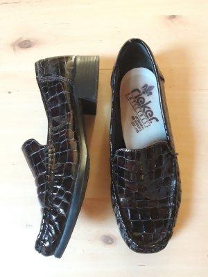 Rieker Wingtip Shoes dark brown