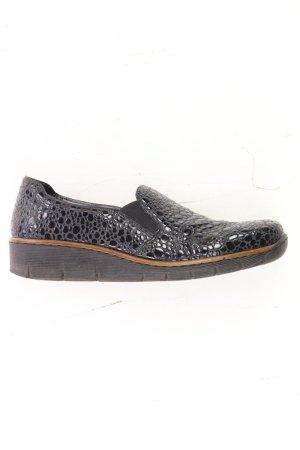 Rieker Schuhe Größe 39 schwarz