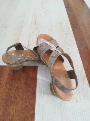 Rieker Sandalias cómodas gris