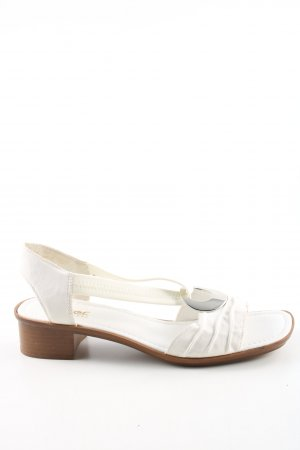 Rieker Slingback Pumps white casual look