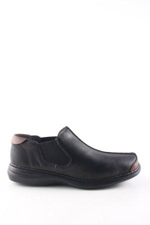 Rieker Pantofola nero-marrone stile casual