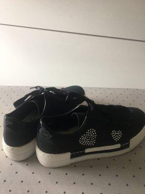 Rieker Sneaker, Gr. 38, schwarz