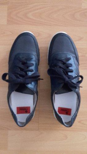 Rieker, Sneaker, Turnschuh, dunkelblau, Gr. 39, kaum getragen