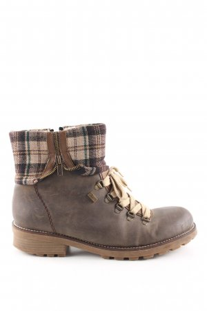 Rieker Snowboots Karomuster Casual-Look