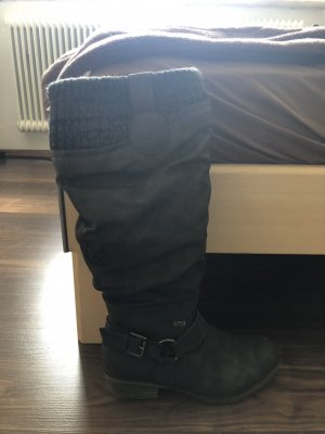 Rieker Laarzen met bont bruin