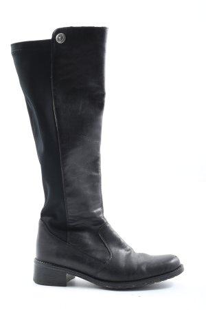 Rieker Wide Calf Boots black elegant