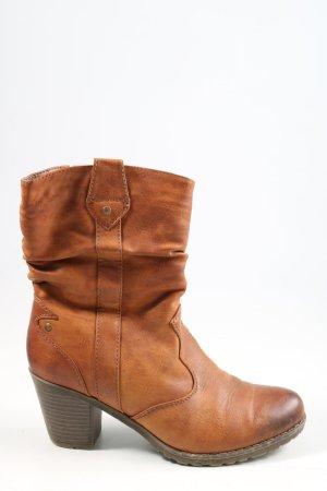 Rieker Stivaletto western marrone stile casual