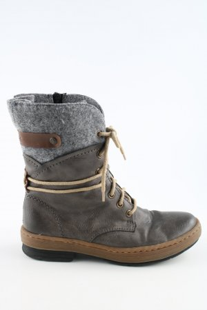 Rieker Winter-Stiefeletten mehrfarbig Casual-Look